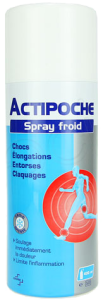 Actipoche spray froid